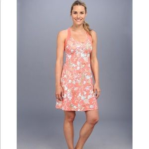 Patagonia Morning Glory Coral Fiery Vines Dress